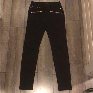 Forever 21 Black Jeans sz 27